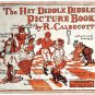 Randolph Caldecott Book The Hey Diddle Diddle Picture Book circa 1910