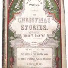 Charles Dickens Christmas Stories Book 1868