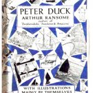 Arthur Ransome Book Peter Duck  First Edition Eighth Impression 1937