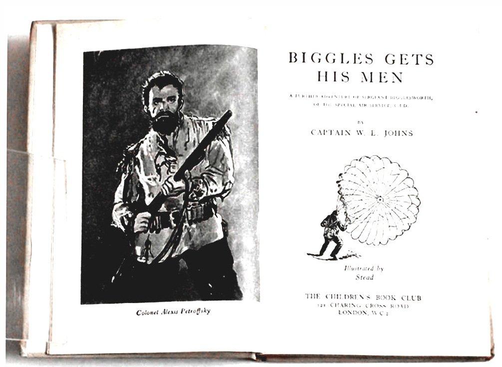 W.E. Johns Biggles Gets His Men Special Edition Book 1951