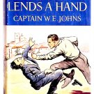 W.E. Johns Gimlet Lends A Hand First Edition 1949