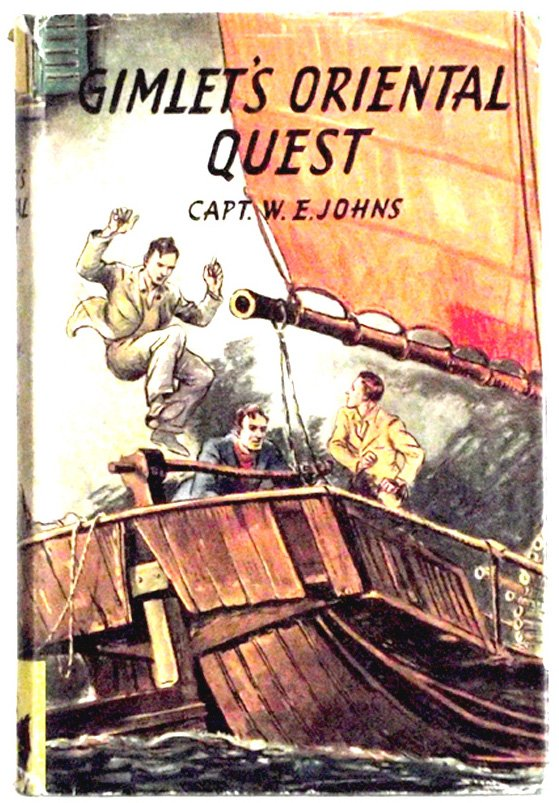 W.E. Johns Gimlet's Oriental Quest First Edition Book 1948