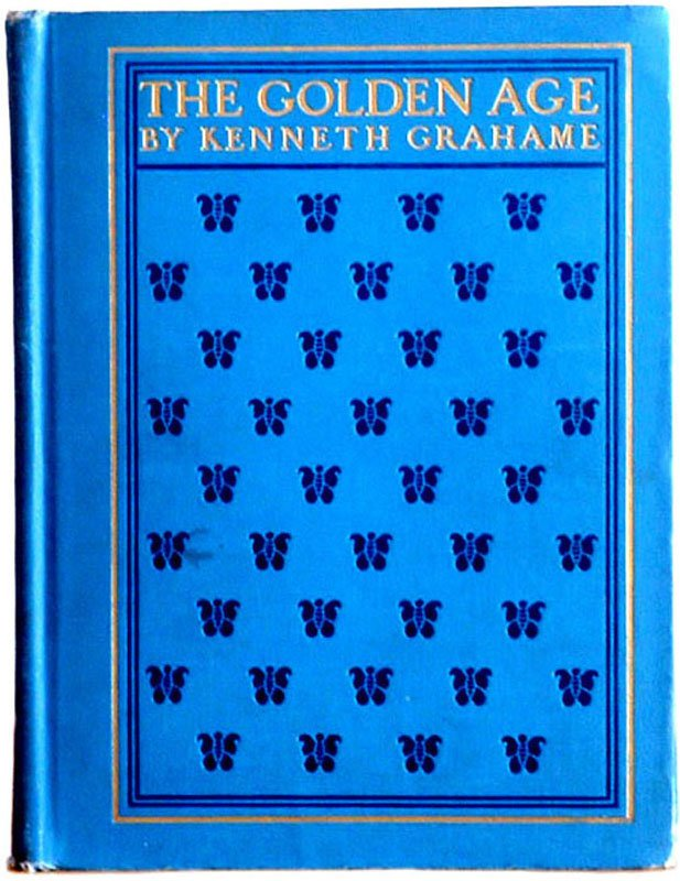 Kenneth Grahame The Golden Age New Edition Book Illustrated by Maxfield Parrish 1904