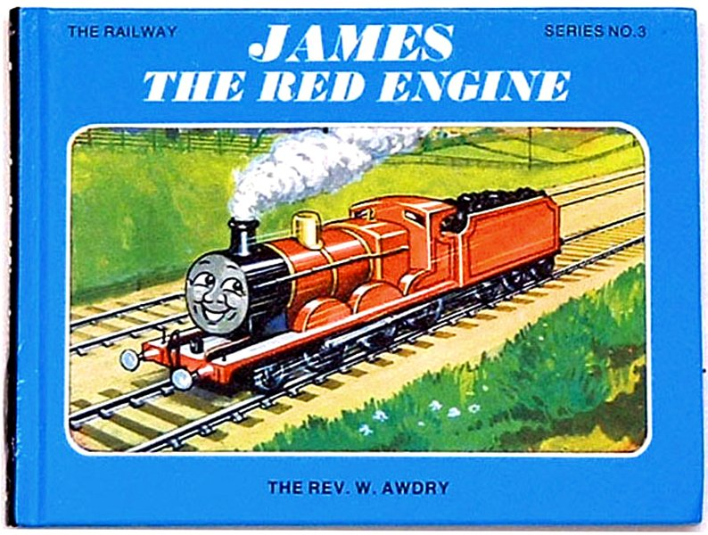 Rev W. Awdry Thomas the Tank Book James the Red Engine