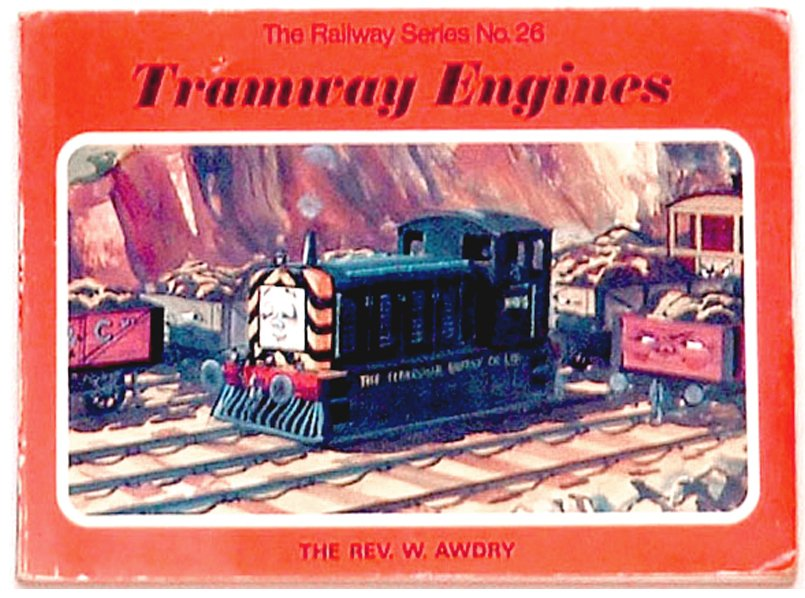 Rev W. Awdry Thomas the Tank Book Tramway Engines 1976