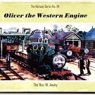 Rev W. Awdry Thomas the Tank Book Oliver the Western Engine 1969
