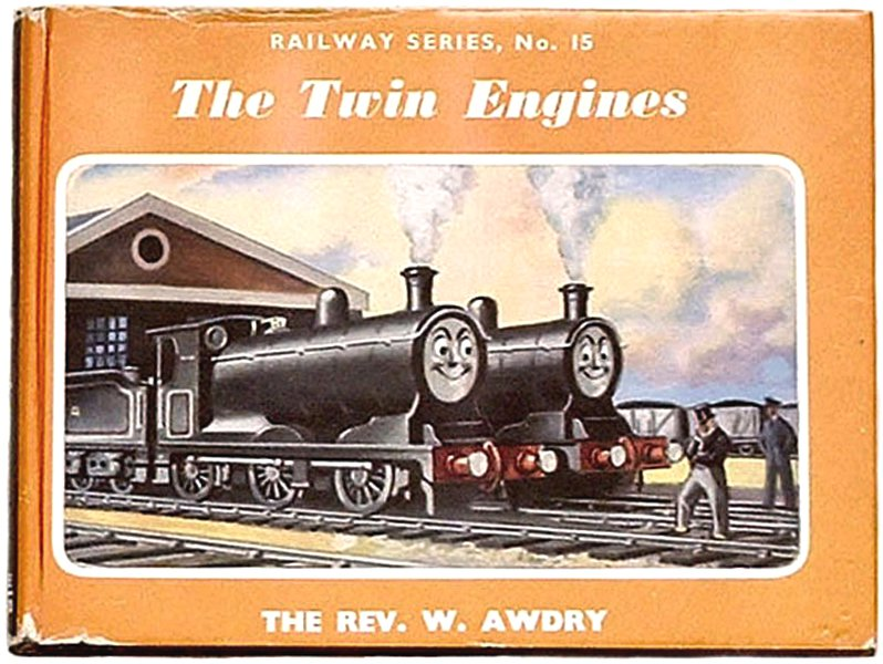 Rev W. Awdry Thomas the Tank Book The Twin Engines 1960