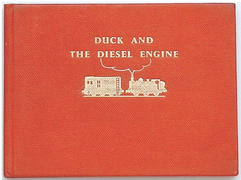 Rev W. Awdry Thomas the Tank Book Duck and the Diesel Engine 1958