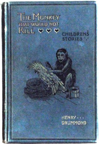 Louis Wain The Monkey That Would Not Kill First Edition Book 1898