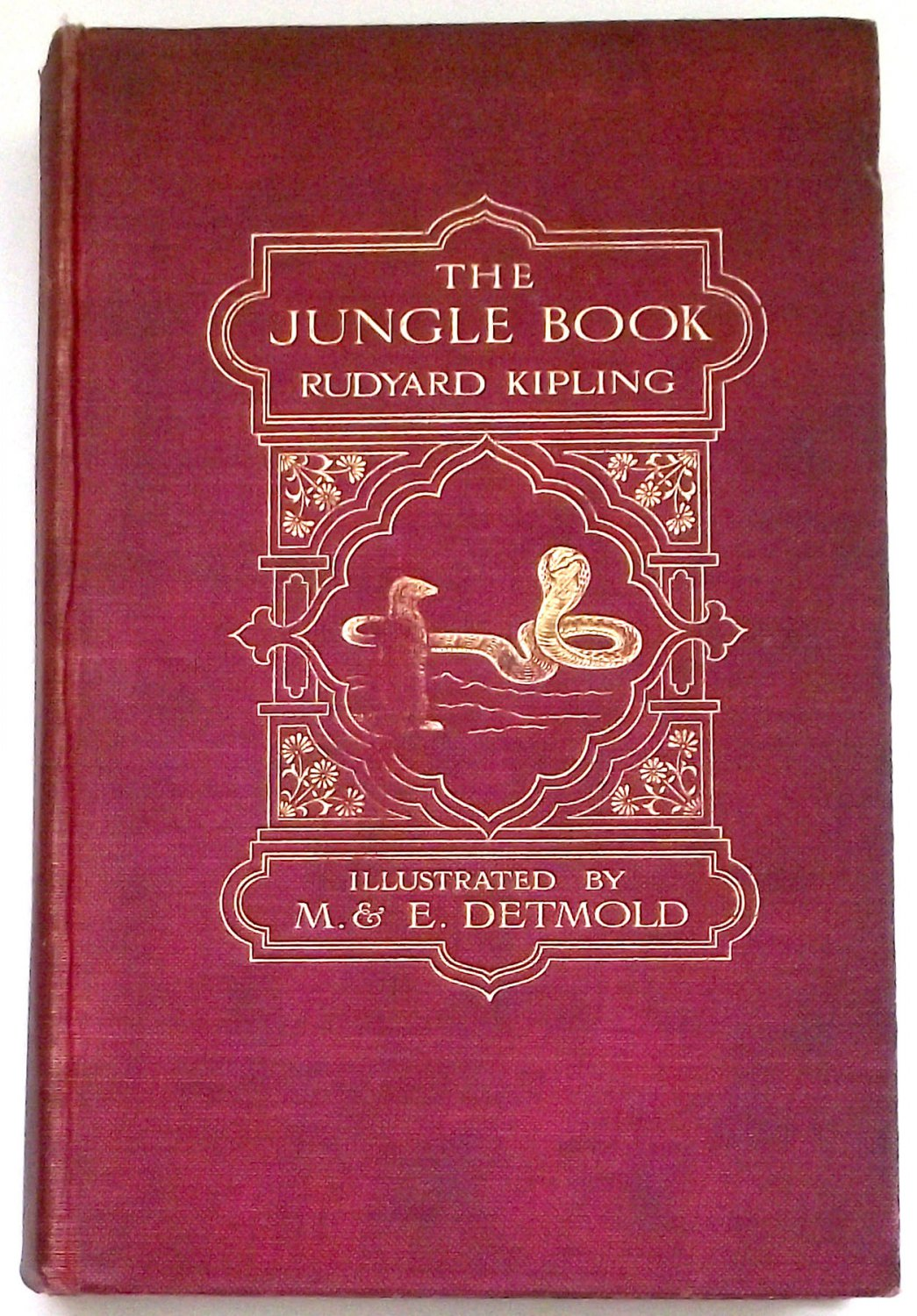 Rudyard Kipling The Jungle Book Illustrated by Maurice and Edward Detmold 1912