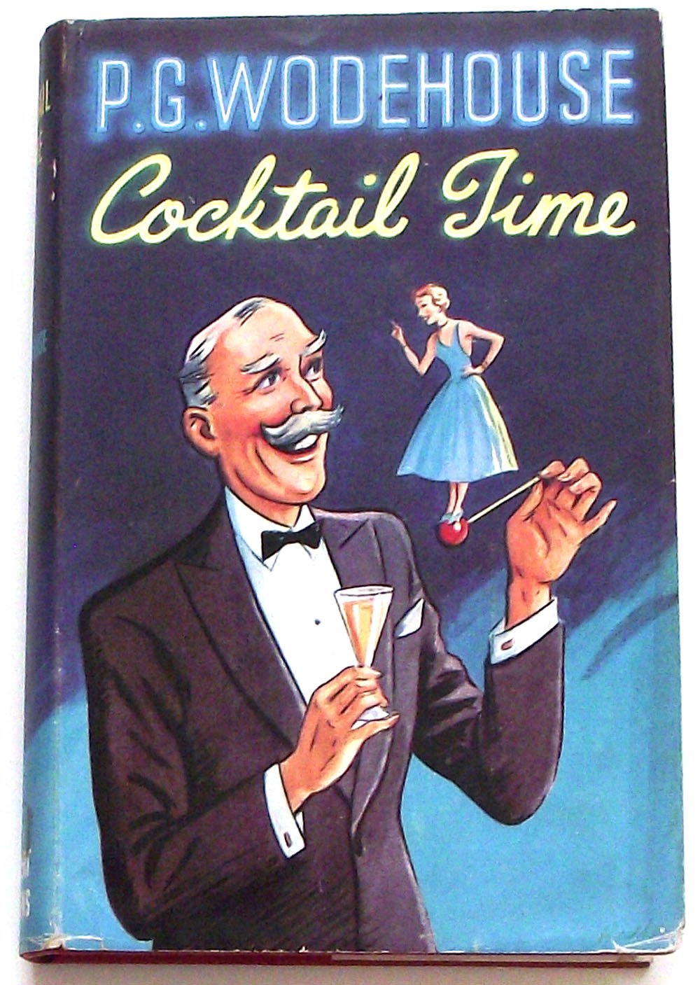 P.G. Wodehouse Cocktail Time First Edition 1958