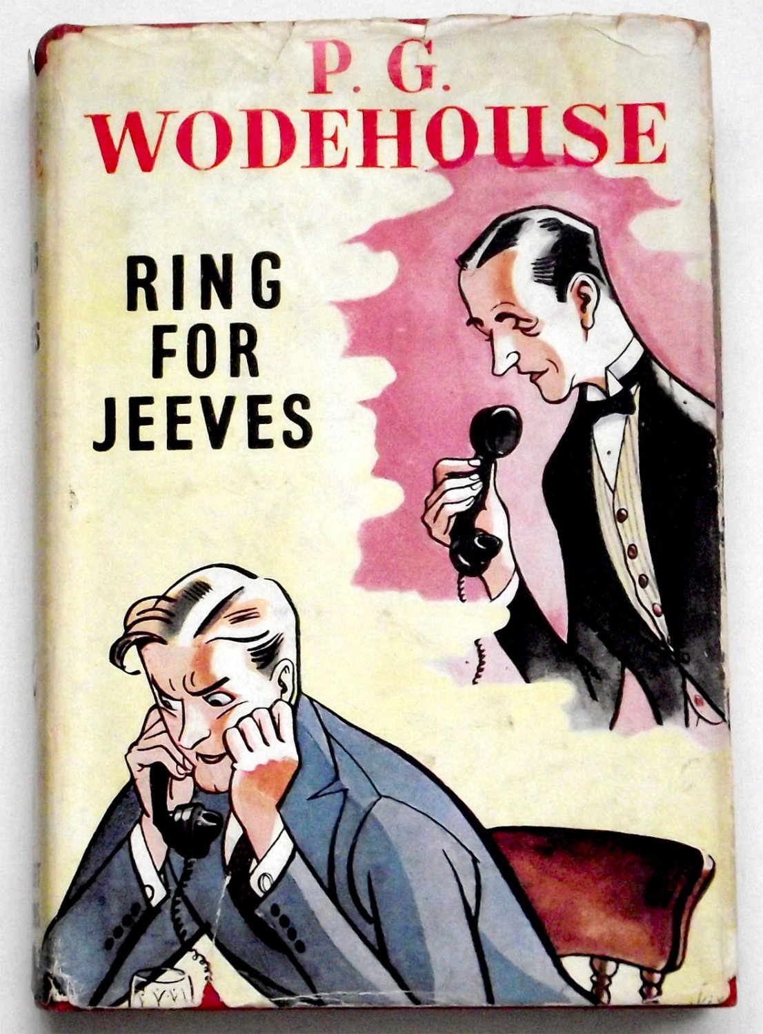 P.G. Wodehouse Ring For Jeeves First Edition with Dust Jacket 1953