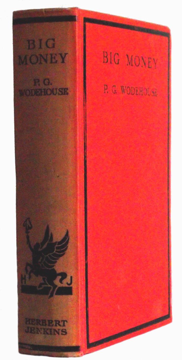P.G. Wodehouse Big Money First Edition 1931