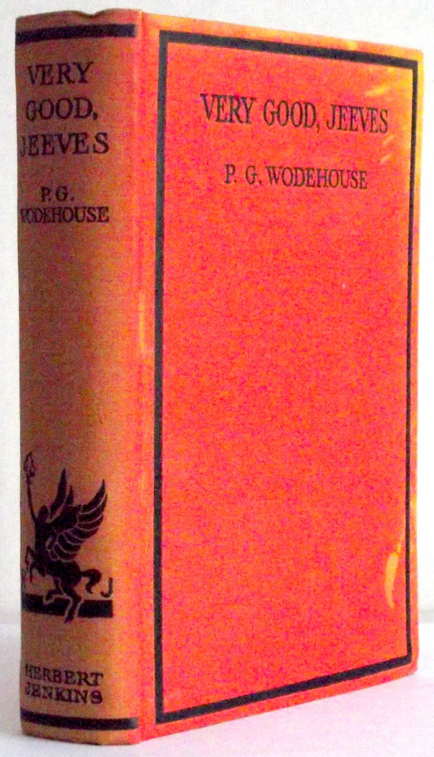 P.G. Wodehouse Very Good Jeeves First Edition 1930