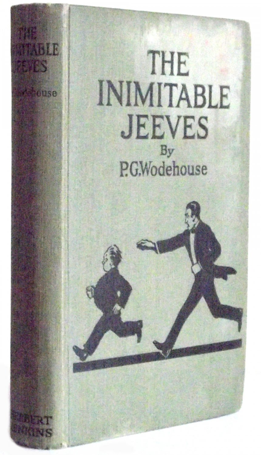 P.G. Wodehouse The Inimitable Jeeves 1926