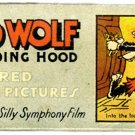Walt Disney Ensign Big Bad Wolf and Red Riding Hood Slides circa 1930s