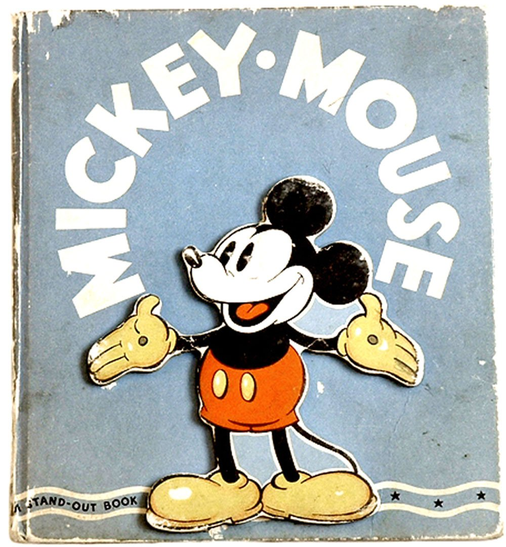 Walt Disney Mickey Mouse A Stand-Out Book