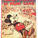Walt Disney Mickey Mouse in Pigmy Land US First Edition 1936