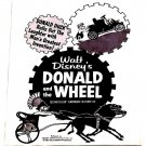 Walt Disney Donald and the Wheel U.S. Press Book 1961