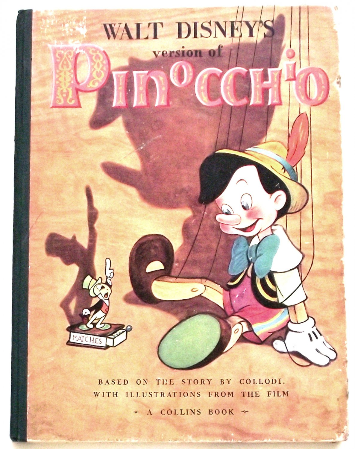 Walt Disney�s Pinocchio First Edition Book 1940
