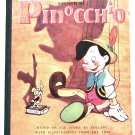 Walt Disney's Pinocchio First Edition Book 1940