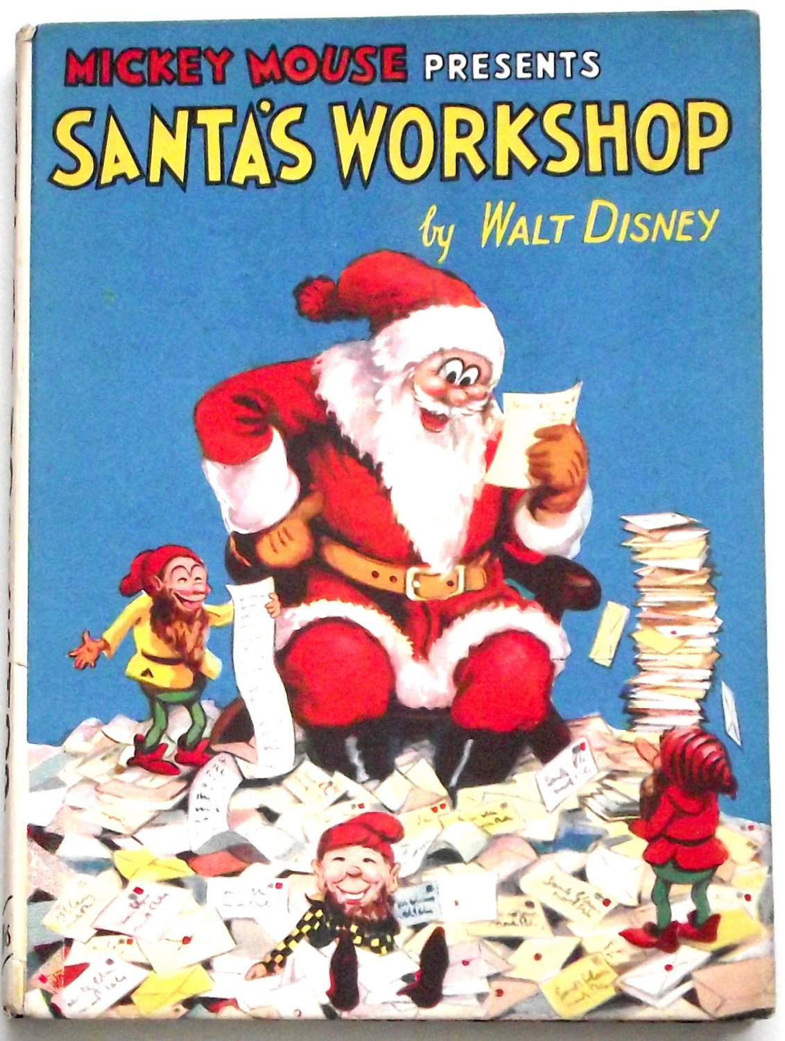 Walt Disney Mickey Mouse Presents Santa�s Workshop First Edition circa 1934