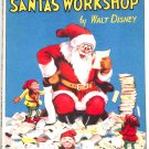 Walt Disney Mickey Mouse Presents Santa's Workshop First Edition circa 1934