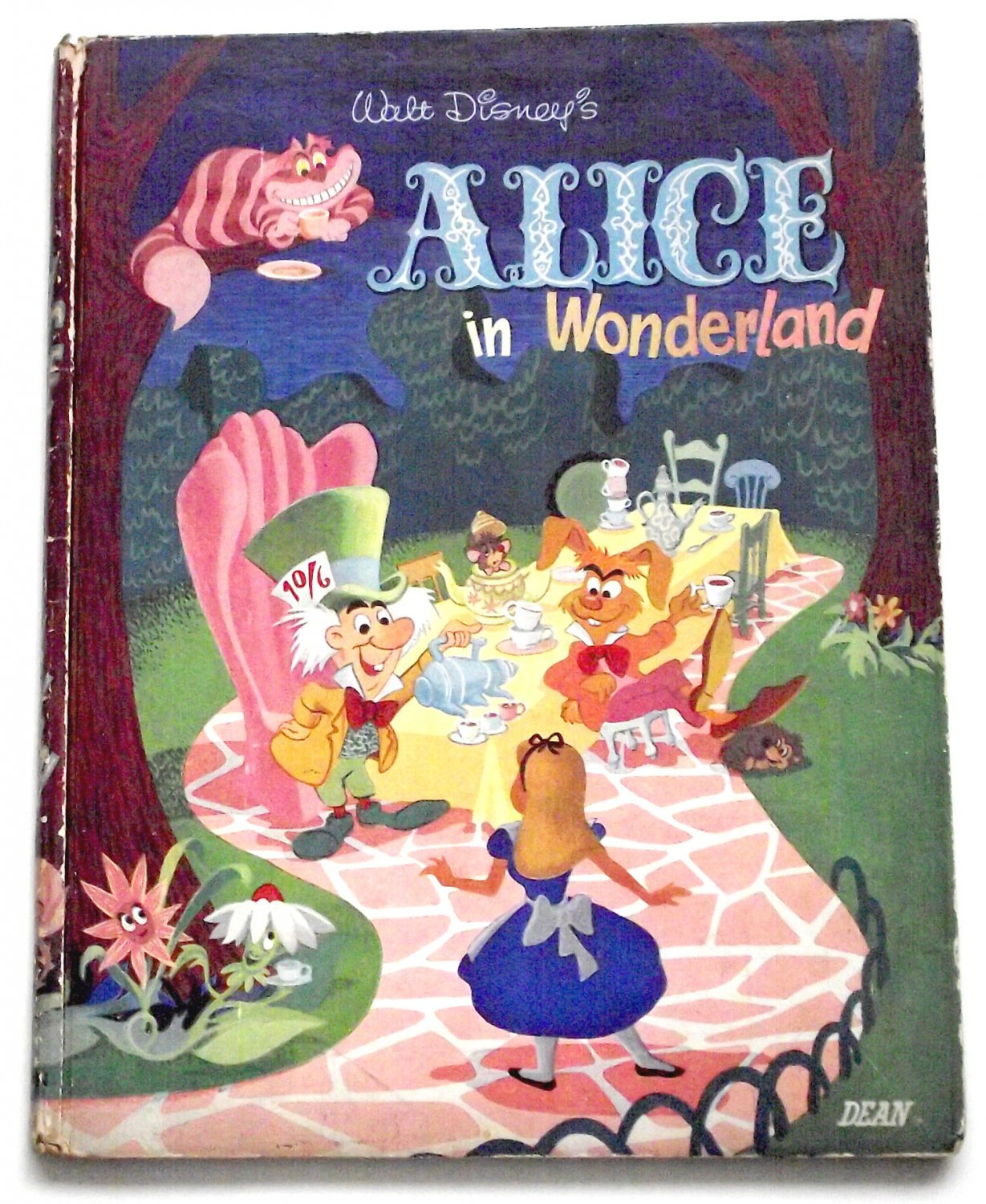 Walt Disney�s Alice In Wonderland First Edition 1951 SCARCE
