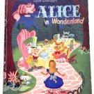 Walt Disney's Alice In Wonderland First Edition 1951 SCARCE