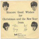 The Beatles First Christmas Flexi Disc and Original Gatefold Sleeve LYN 492 1963