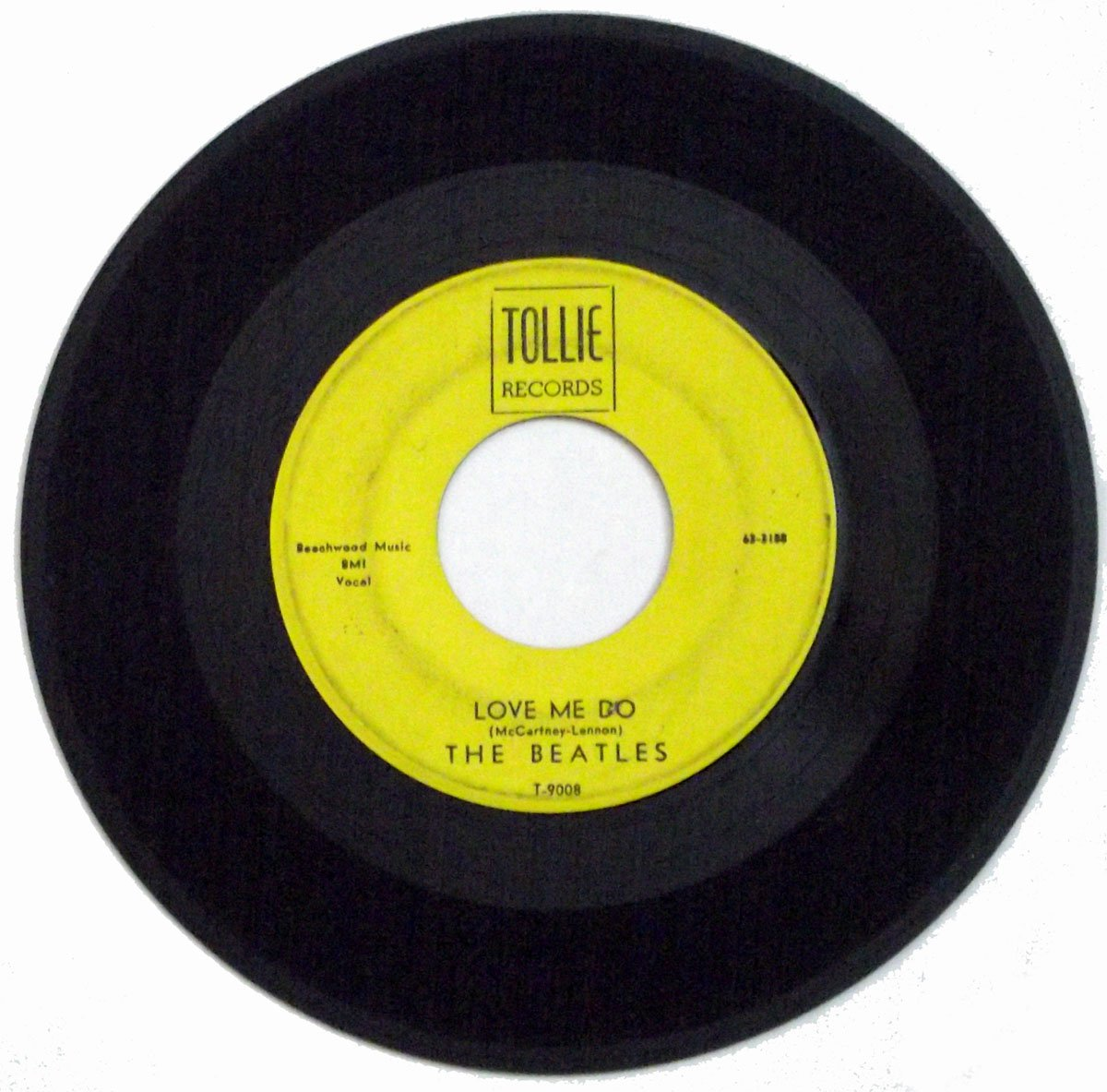 The Beatles Love Me Do & P.S. I Love You Tollie April 1964