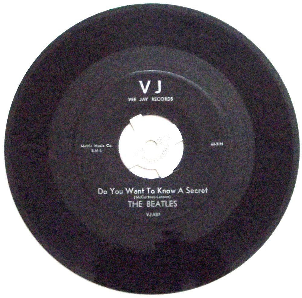 The Beatles Do You Want To Know A Secret & Thank You Girl Vee Jay U.S. Single 1964