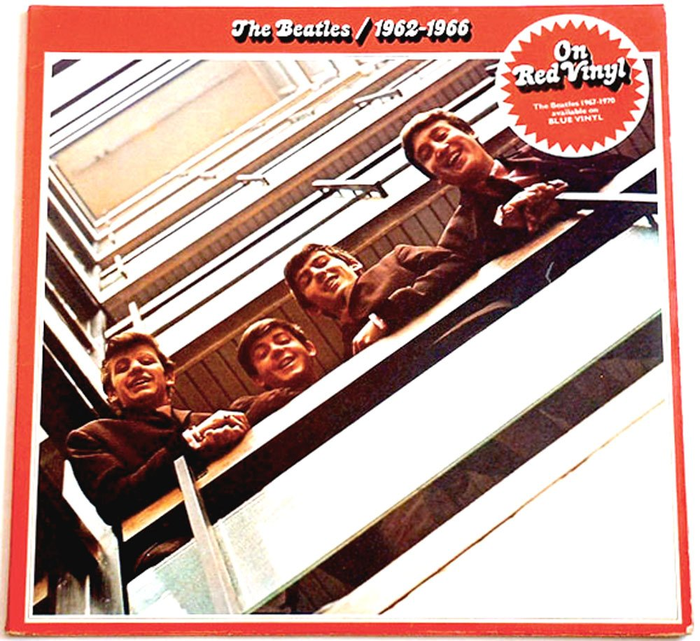 The Beatles Red Album 1962 � 1966 Double Album Red Vinyl Parlophone PCSPR 717 1973