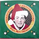 Paul McCartney Wonderful Christmastime Columbia Label 1-11162 U.S. Vinyl Single First Pressing 1979