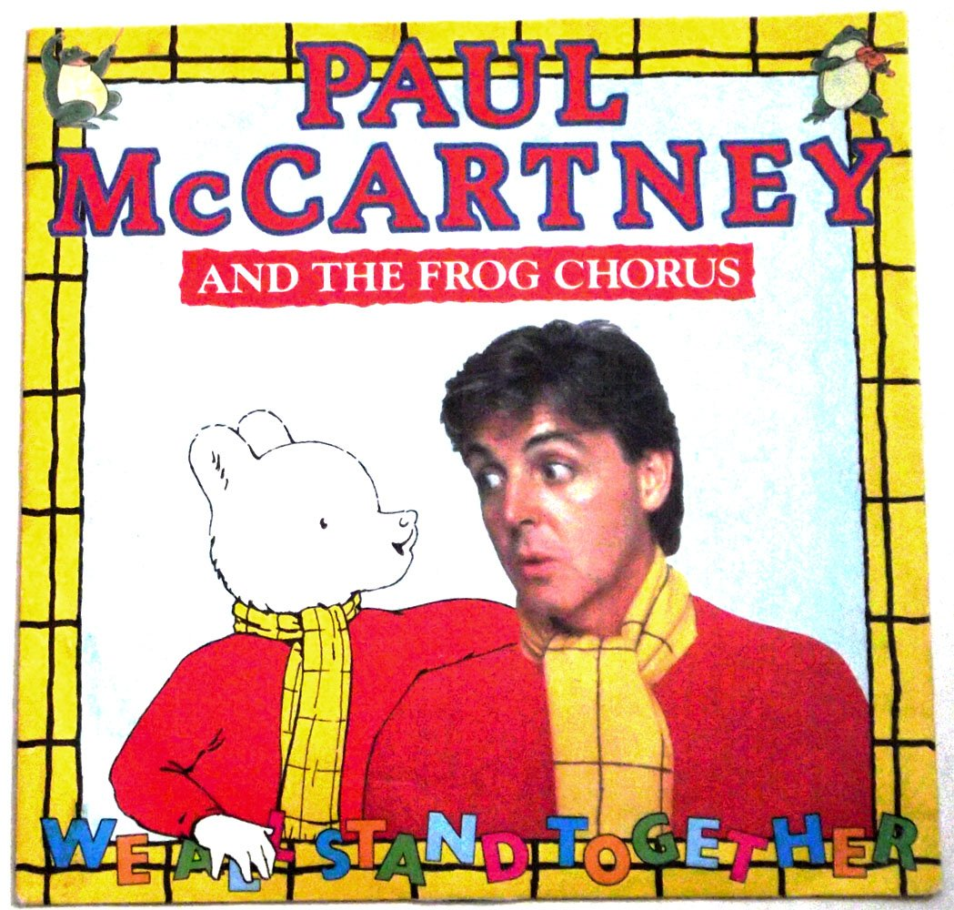 Paul McCartney We All Stand Together Parlophone R6086 Vinyl Single 1984