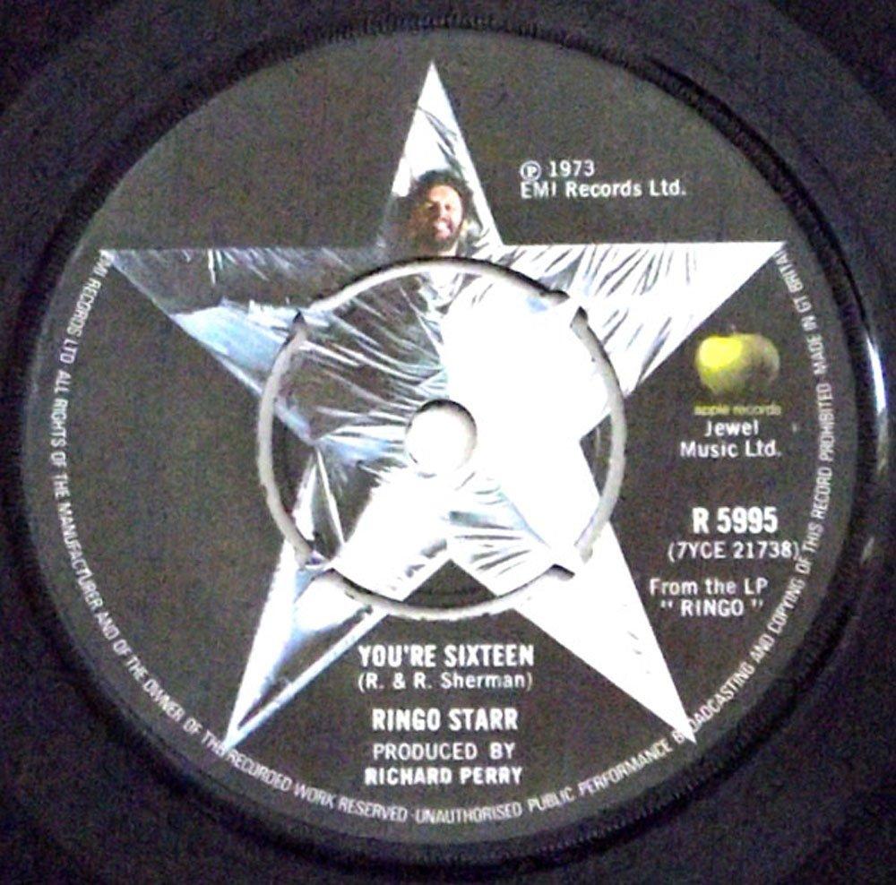 Ringo Starr Single You're Sixteen & Devil Woman 1973