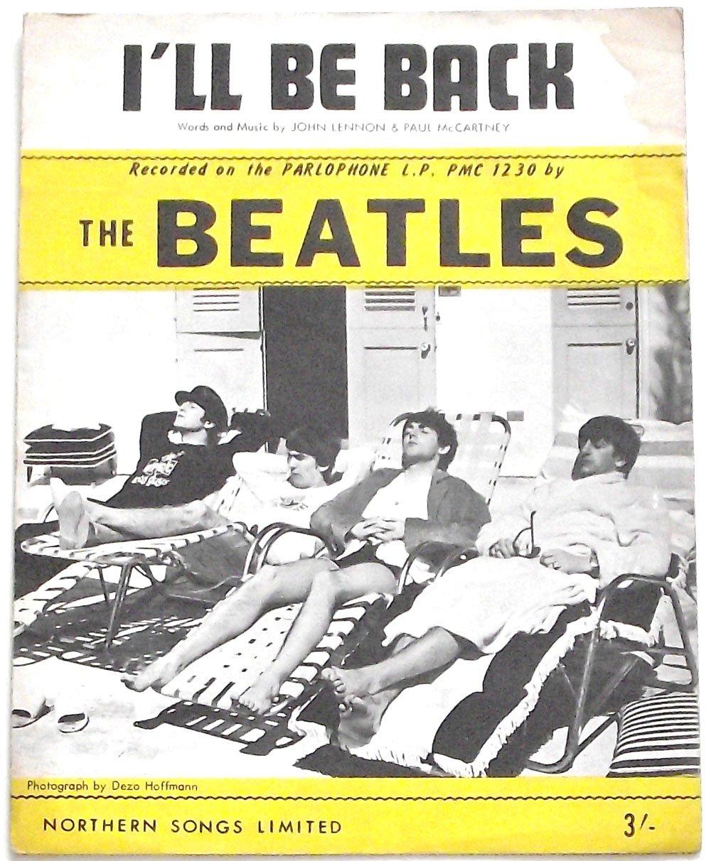 The Beatles I�ll Be Back Sheet Music 1964