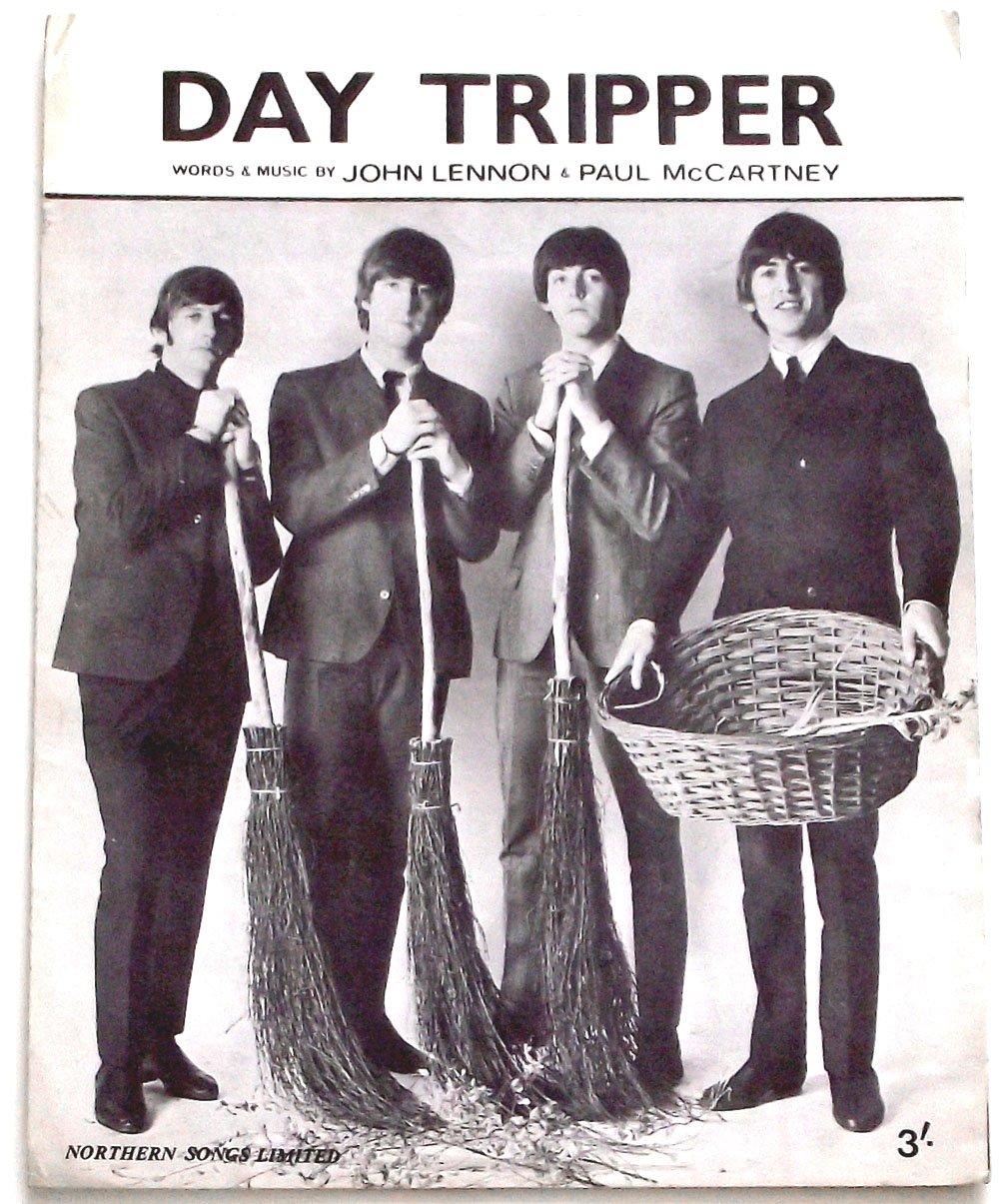 The Beatles Day Tripper Sheet Music 1965