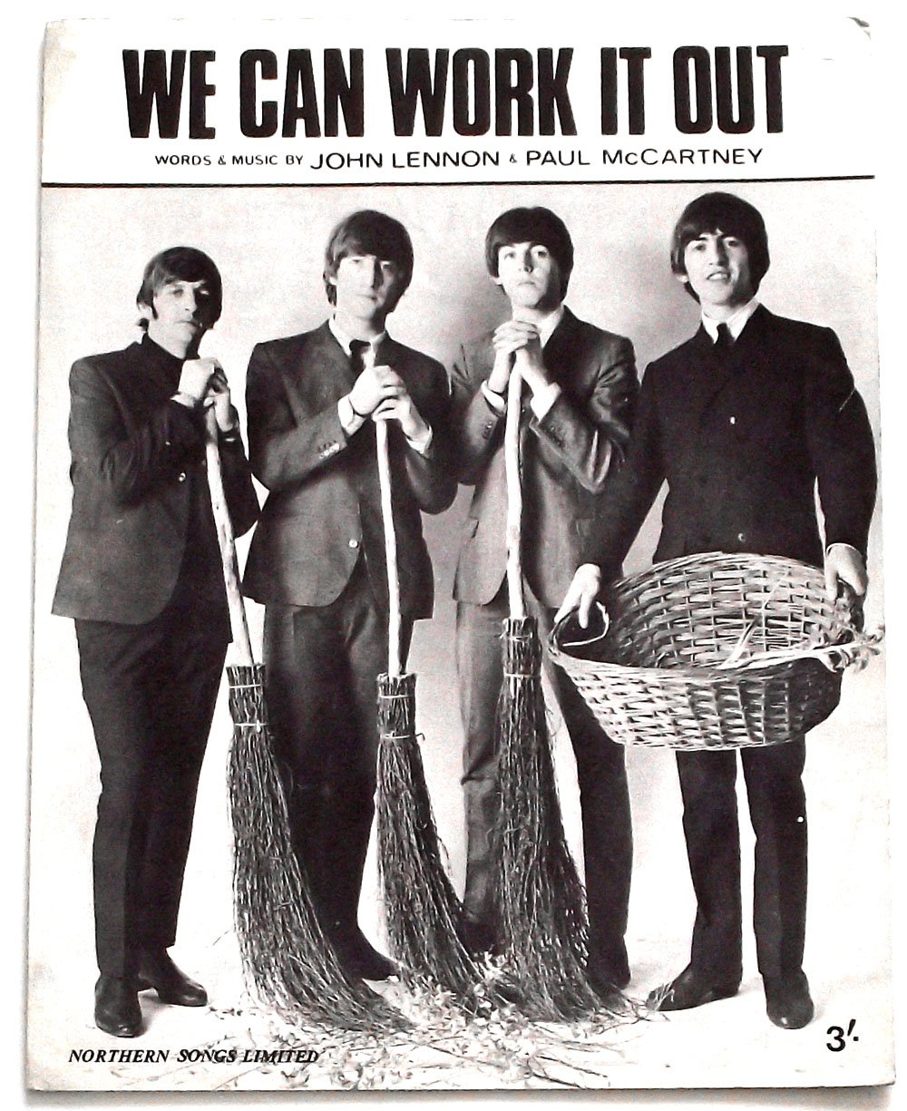 The Beatles We Can Work It Out Sheet Music 1965