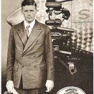 Charles Lindbergh Spirit of St Louis Mobiloil Advertising Postcard