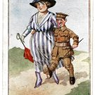 Donald McGill Postcard Collection 14 Postcards First World War and Comique Postcard Series