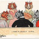 Louis Wain Cats Postcard I Had A Lovely Time 1905