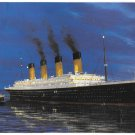 Titanic Greetings Card Illustration of RMS Titanic Autographed by Millvina Dean