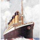 Titanic Raphael Tuck Postcard White Star Line Postcard No 9898