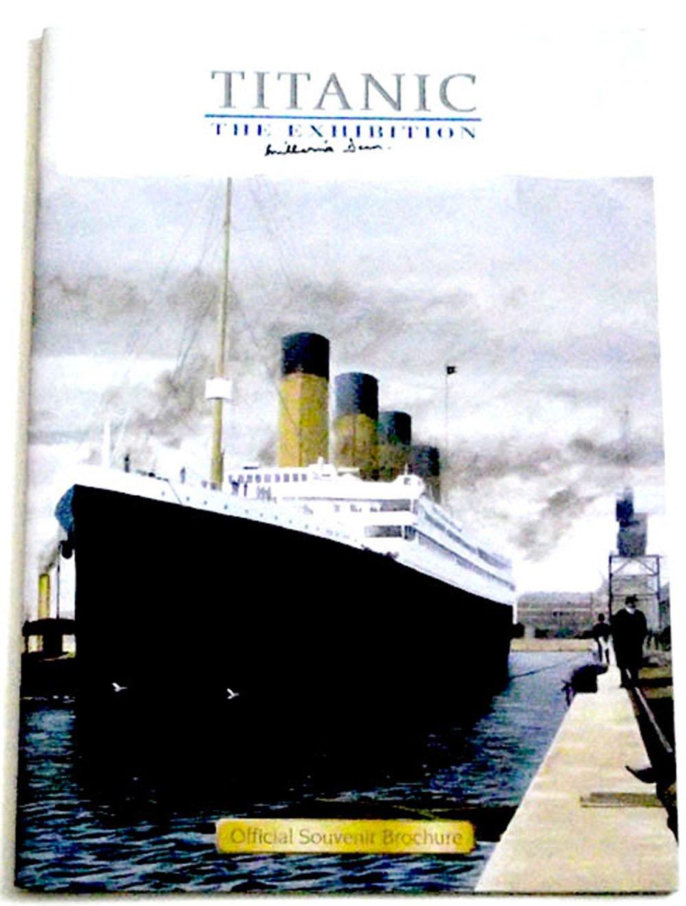 Titanic The Exhibition Brochure Autographed by Titanic Survivor Millvina Dean