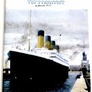 Titanic The Exhibition Brochure Autographed by Titanic Survivor Millvina Dean
