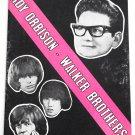 Roy Orbison and The Walker Brothers Astoria Finsbury Park Concert Programme 1966