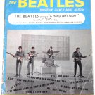 The Beatles A Hard Day's Night Song Book 1964