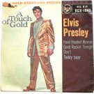 Elvis Presley A Touch of Gold Volume 1 EP Record RCX-1045 1959