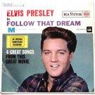 Elvis Presley Follow That Dream U.K. EP Film Soundtrack 1962